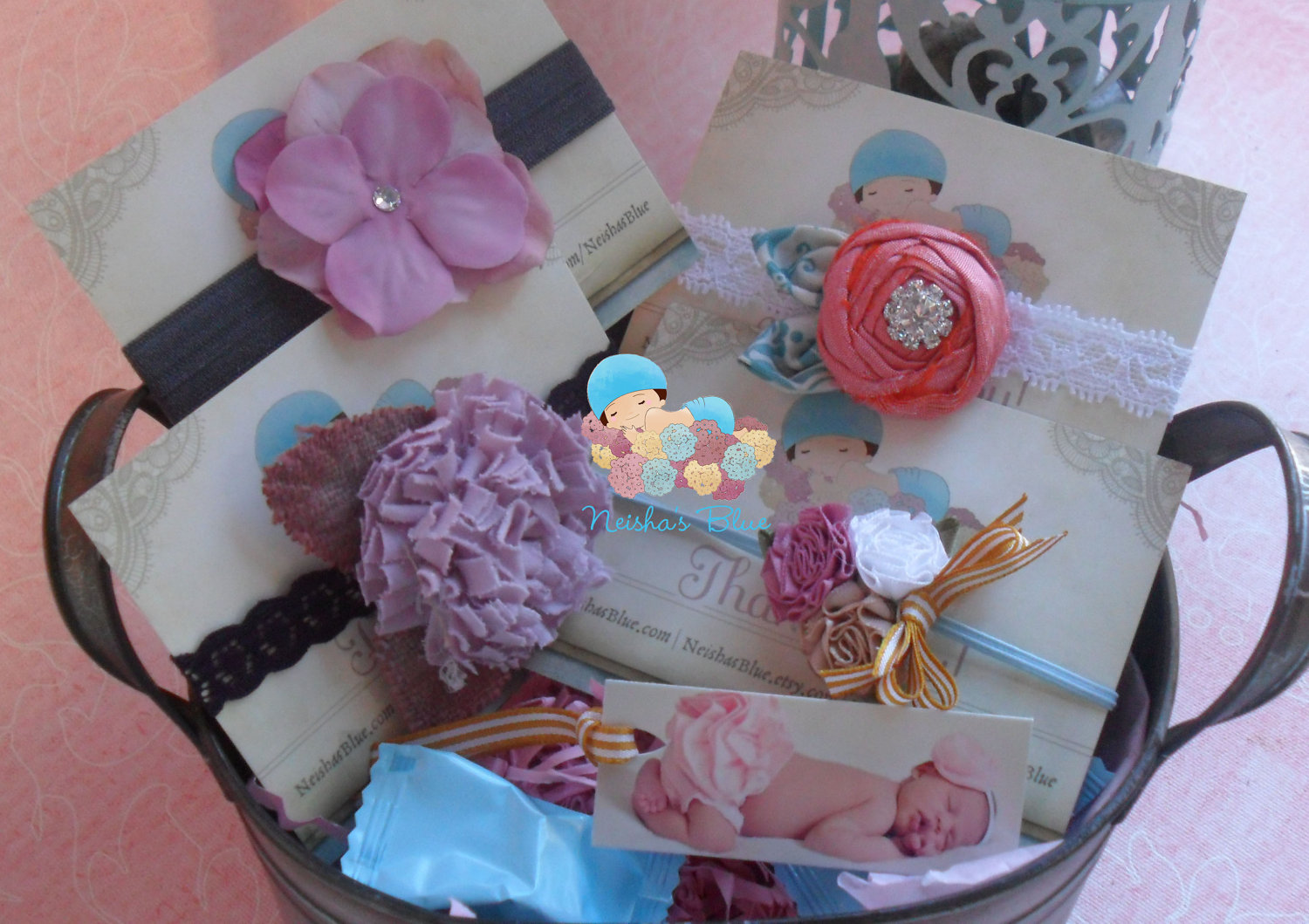Baby Girl Gift Ideas: Baby Girl Gift Basket Set, Baby Shower Gift, The Ideal